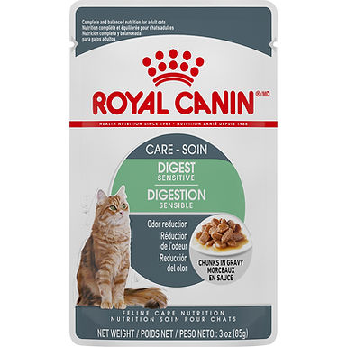 Royal Canin Digest Sensitive Chunks in Gravy Pouch, 3 oz