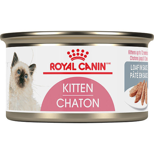 Royal Canin Kitten Loaf In Sauce Canned Cat Food, 3 oz