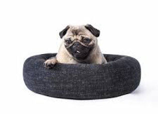 Canada Pooch Carbon black Birch bed LARGE