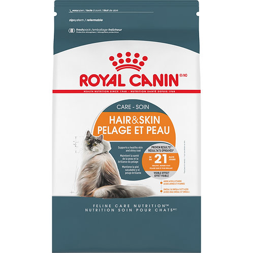 Royal Canin Hair & Skin Care Adult Dry Cat Food, 7 lb