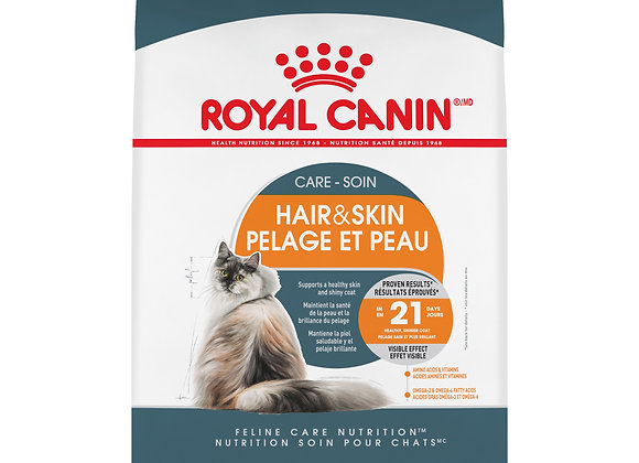 Royal Canin Hair & Skin Care Adult Dry Cat Food, 7 lb