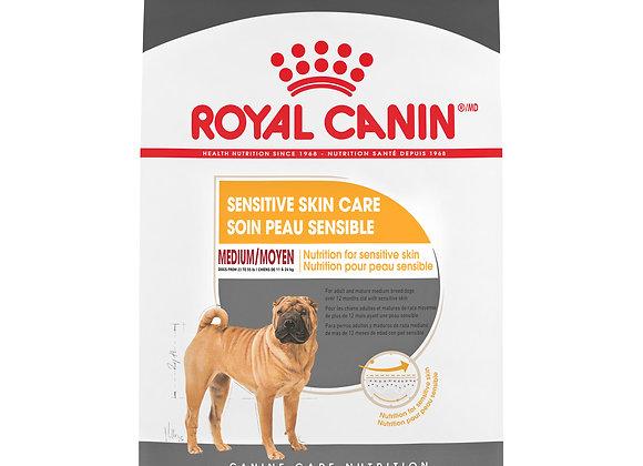 Royal Canin Medium Sensitive Skin Care Dry Dog Food, 30 lb