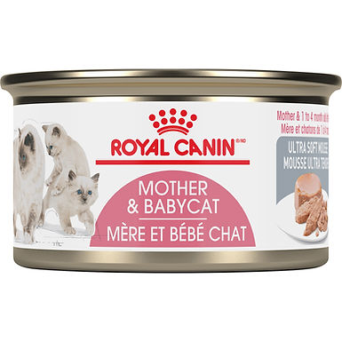 Royal Canin Mother & Babycat Ultra Soft Mousse Canned Cat Food, 3 oz