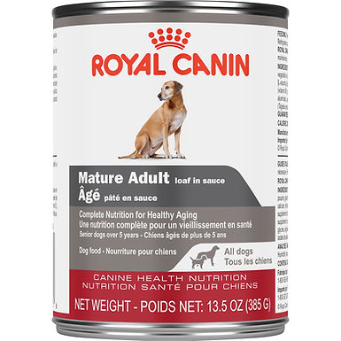 Royal Canin Mature Adult Loaf Canned Dog Food, 13.5 oz