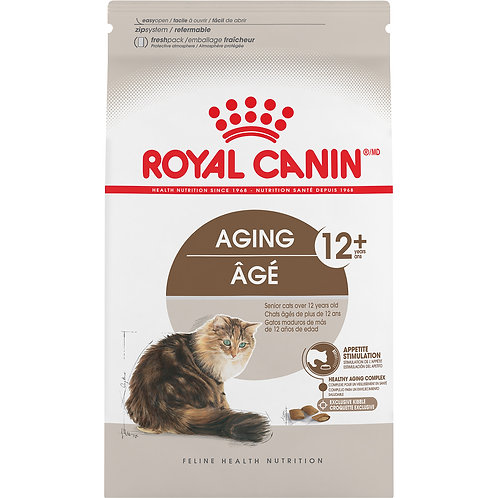 Royal Canin Aging 12+ Dry Adult Cat Food, 6 lb