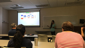 Marina Martínez-Bartolomé presented her proposal seminar at Auburn University