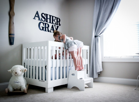 Lifestyle Newborn - Two girls and a boy!