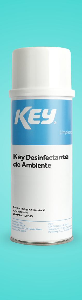 KEY Desinfectante de Ambiente 99.99%
