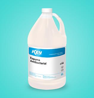 KEY Jabón Espuma Antibacterial