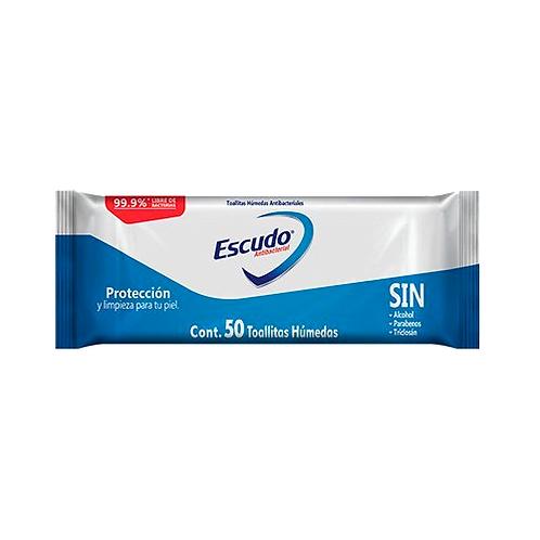 Toallitas Húmedas Antibacteriales Escudo