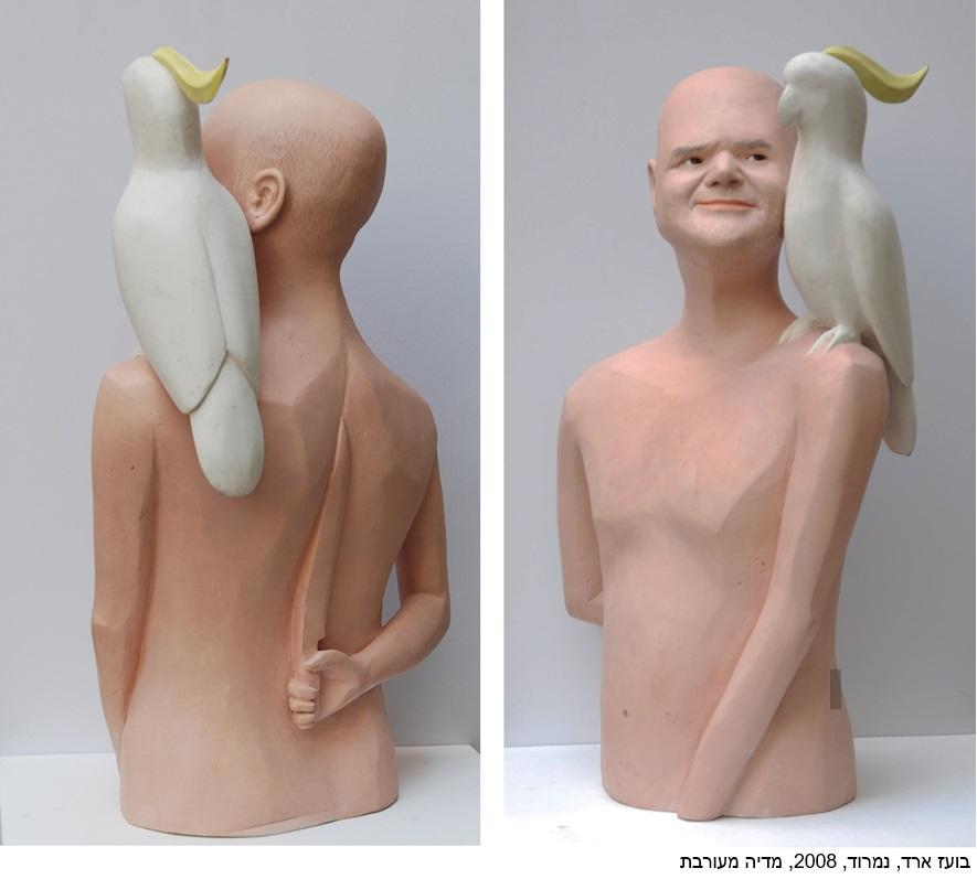 בועז ארד - נמרוד- 2008- מדיה מעורבת- בועז ארד