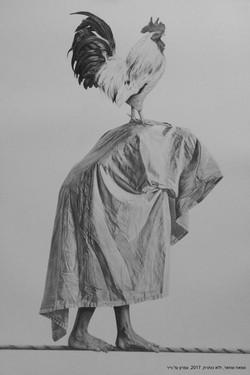 סמאח שחאדה - ללא כותרת - עפרון על נייר