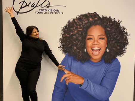 ¡Oprah y yo!
