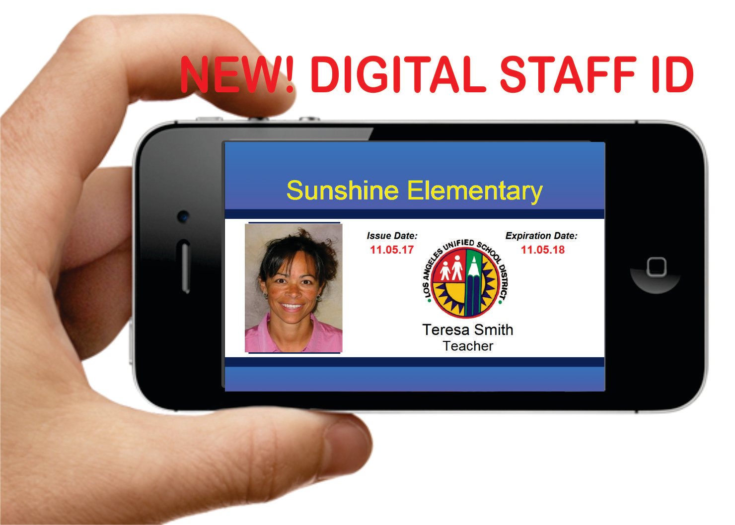 Digital Staff I.D.