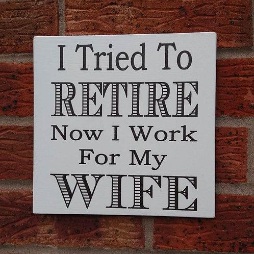 I tried to retire plaque
