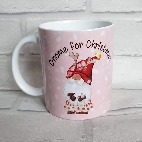 Gnome for Christmas mug