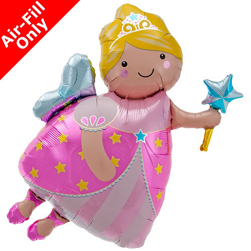 Fairy godmother foil balloon
