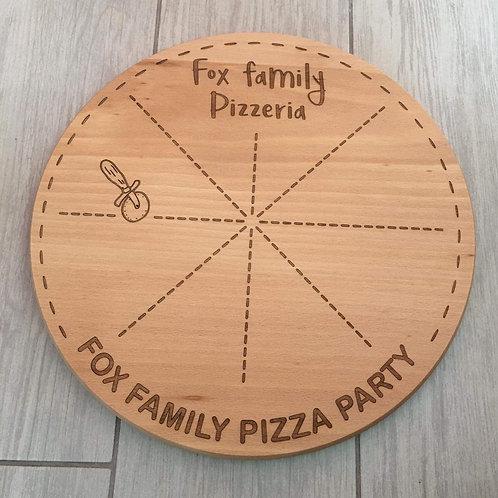 Family pizza board