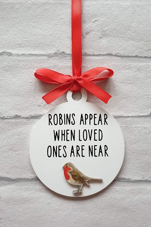 Robins appear decoration (new)
