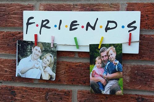 Friends peg plaque