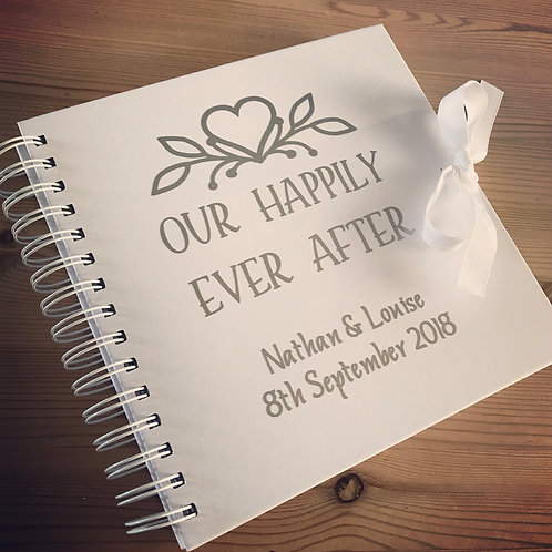 Our happily ever after notebook