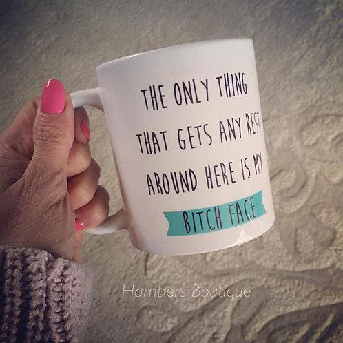 Bitch face mug