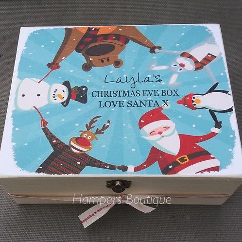 Father Christmas & friends Christmas Eve box