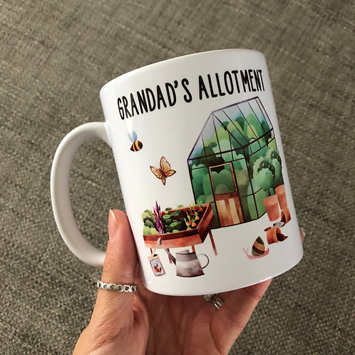 Grandad's allotment mug