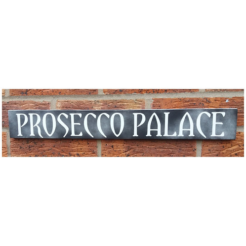 Prosecco palace plaque