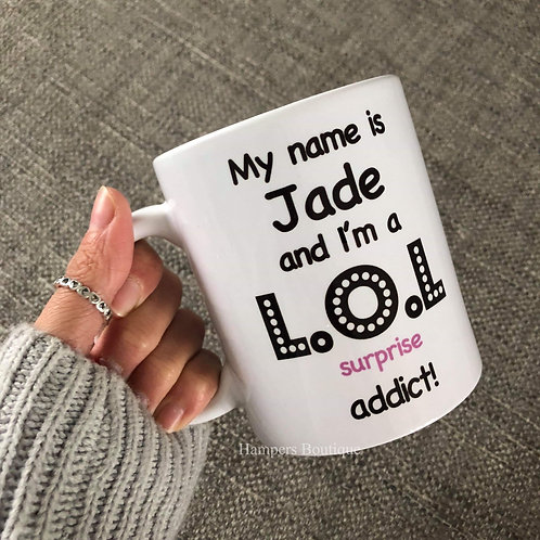 My name is -L.O.L mug