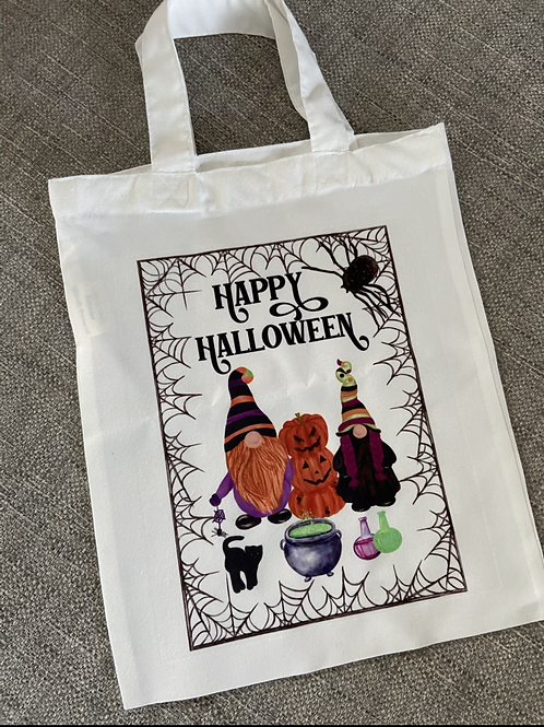Happy Halloween treat bag