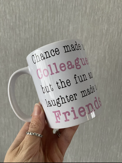 Chance made us colleagues mug