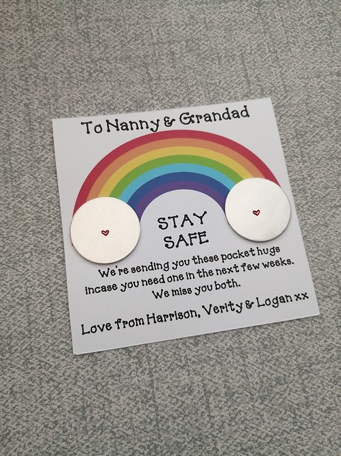 Stay safe personalised token