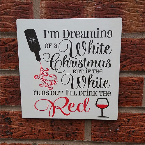 I'm dreaming of a white Christmas (new)