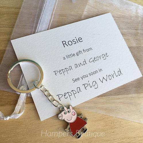 Peppa Pig reveal key ring