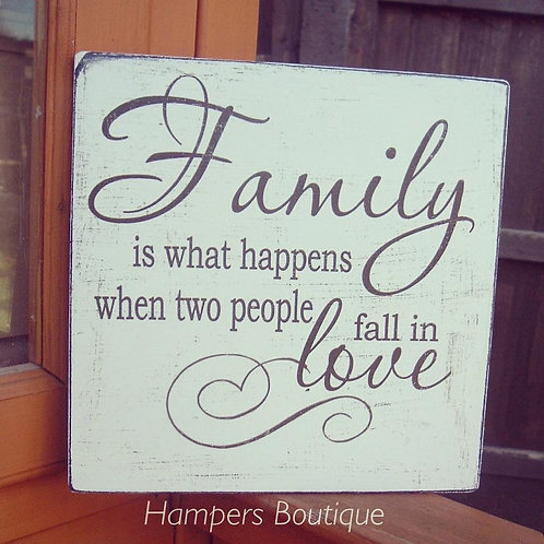 Family is what happens when plaque