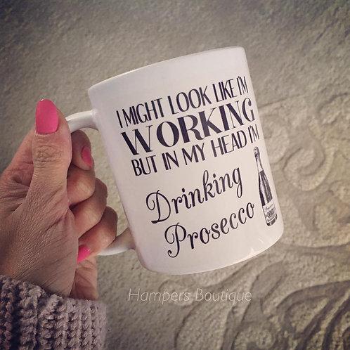 I might look like I'm working mug
