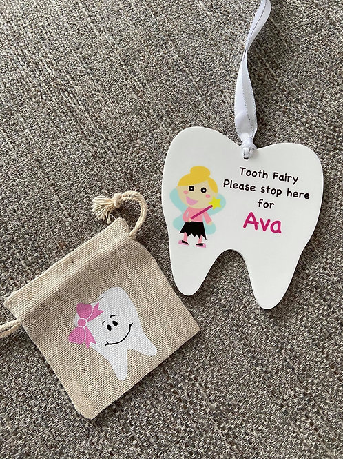 Tooth fairy set