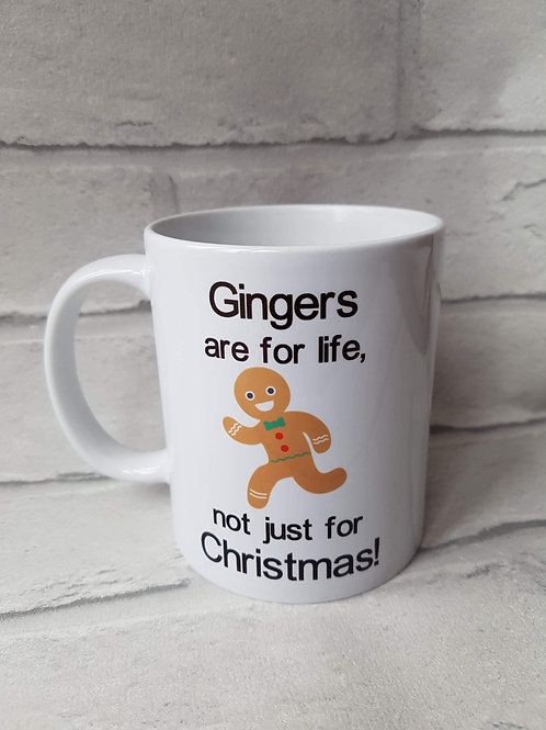 Gingers are for life mug