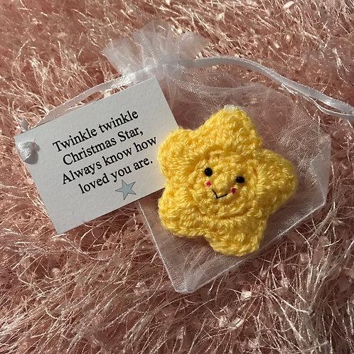 Crochet twinkle twinkle Christmas star