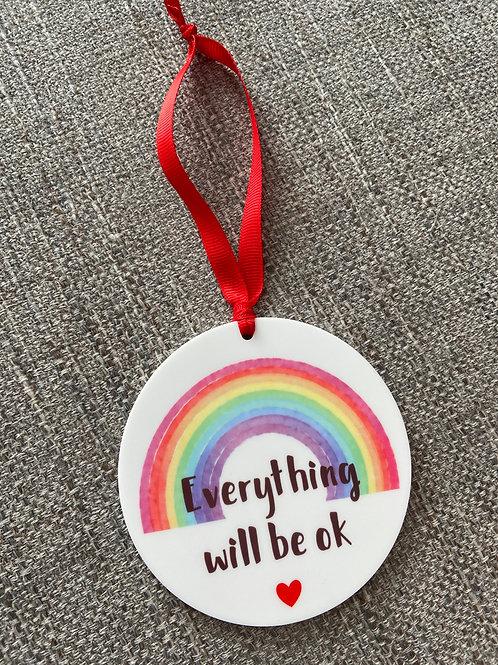 Everything will be ok acrylic