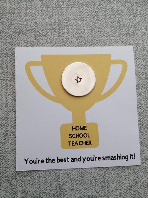 Home school teacher token