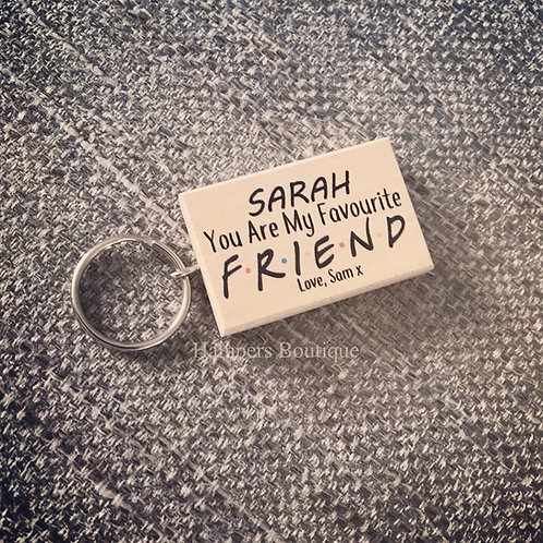 Friend keyring