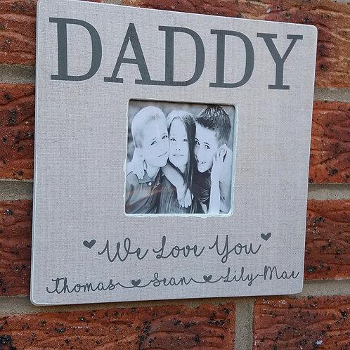 Daddy frame