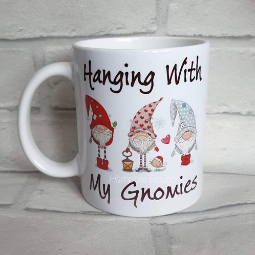 Hanging with my gnomies mug