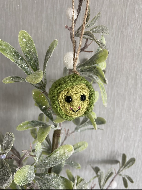 Brussel Sprout hanging decoration