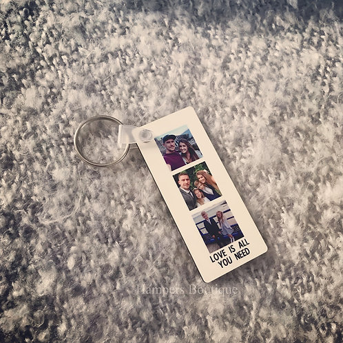 Photo keyring