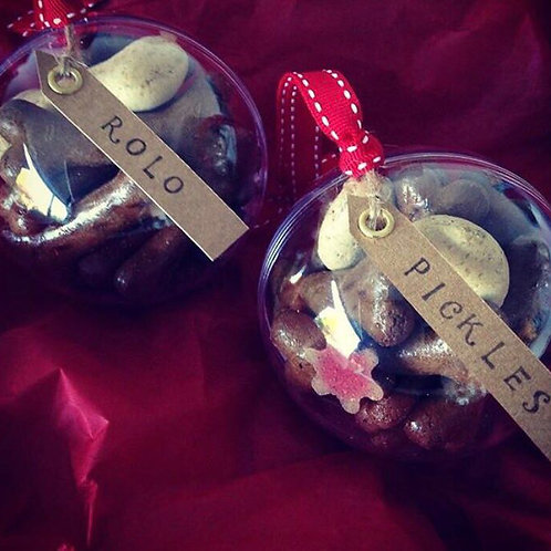 Dog treat baubles