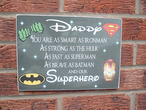 Daddy you are as smart as plaque