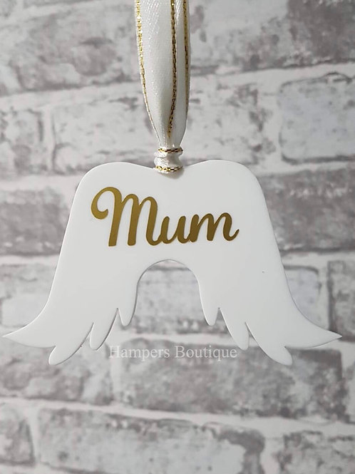 Angel wings decoration